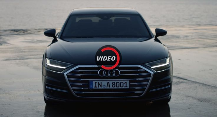 2018 Audi A8 Demonstrates Its High-Tech Features In Detail