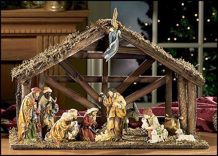 Twelve-Piece Matteo Nativity Stable Set