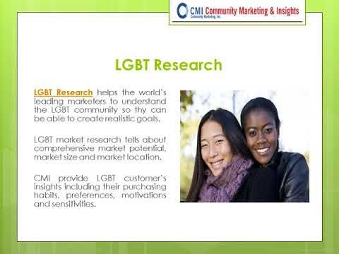 Community Marketing & Insights is a NGLCC Certified LGBT Owned Business Enterprise provides LGBT research, LGBT recruiting statistics, LGBT tourism research, LGBT diversity seminars, LGBT demographics and marketing, consulting and training to corporate leaders, Government agencies, non-profit organizations and universities across the world since 1992. They have over 25 years' experience to help industry leaders for LGBT research and marketing.