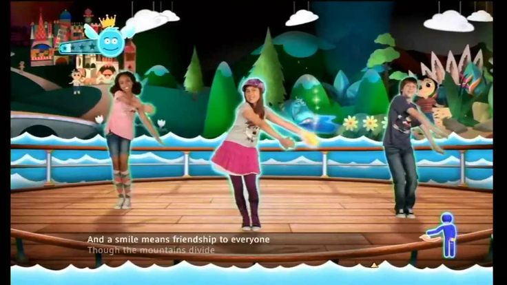 """Just Dance Disney Party - """"It's a Small World"""" - 2,130 + Score"""