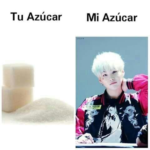 Mi azúcar es SUGA <3