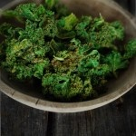 cheesy kale chips with miso, garlic and dulse from nourished kitchen