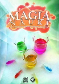 Magia nauki. 21 doświadczeń do samodzielnego wykonania Magia nauki to książka z dokładnie opisanymi doświadczeniami chemiczno-biologiczno-fizycznymi do wykonania w każdym domu albo na lekcjach. Doświadczenia są opatrzone komentarzami i wzbogacone krótkimi esejami pokazującymi, jak zjawiska i organizmy wykorzystane w eksperymentach wiążą się z prawdziwą Nauką. Niniejsza publikacja została wykonana w całości przez studentów Koła Naukowego Przyrodników Wydziału Biologii UAM w Poznaniu…