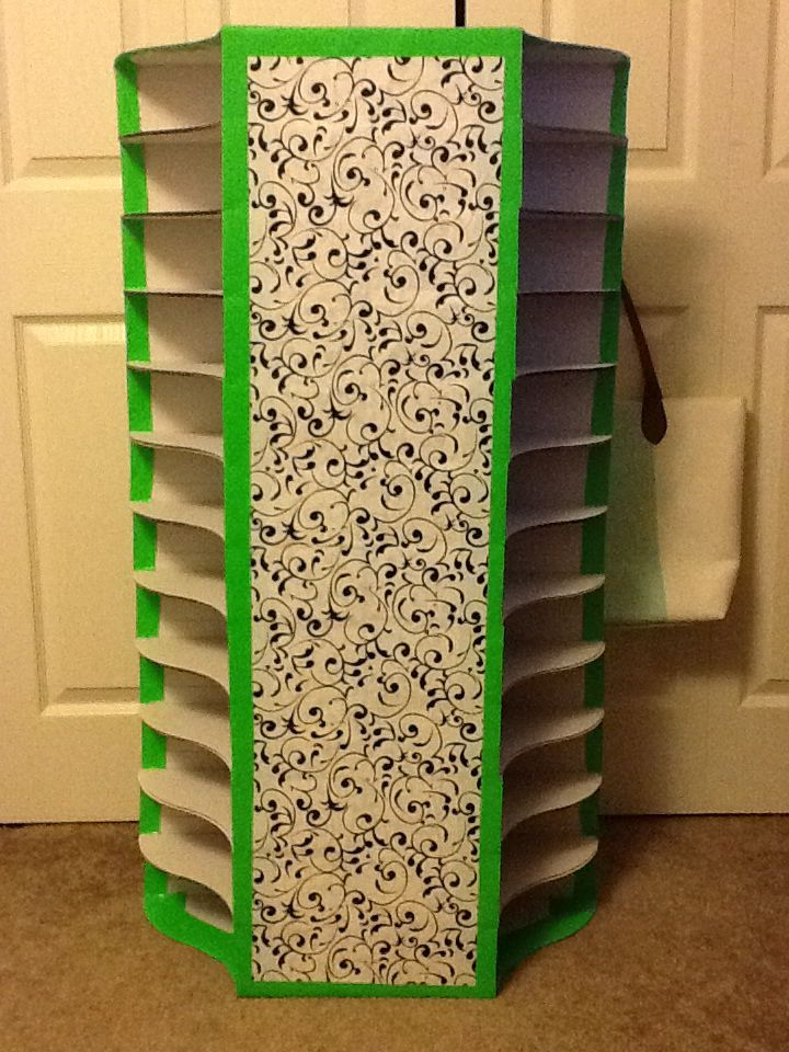 Check out these student mailboxes made from IKEA magazine holders, Mactac and colored duct tape!