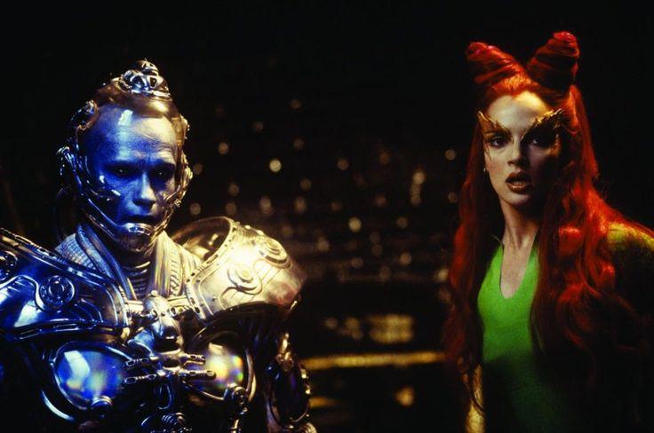 Still of Arnold Schwarzenegger and Uma Thurman in Batman & Robin (1997)