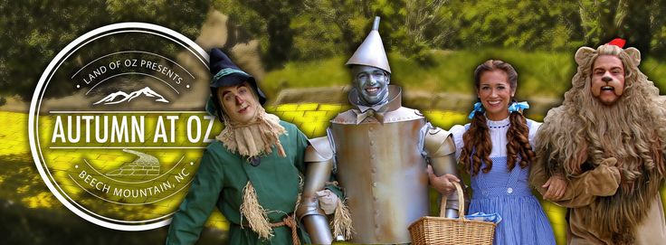 Join us for our annual events including Autumn at Oz and Family Fun Month. Learn more about how you can enjoy your experience at the Land of Oz™.