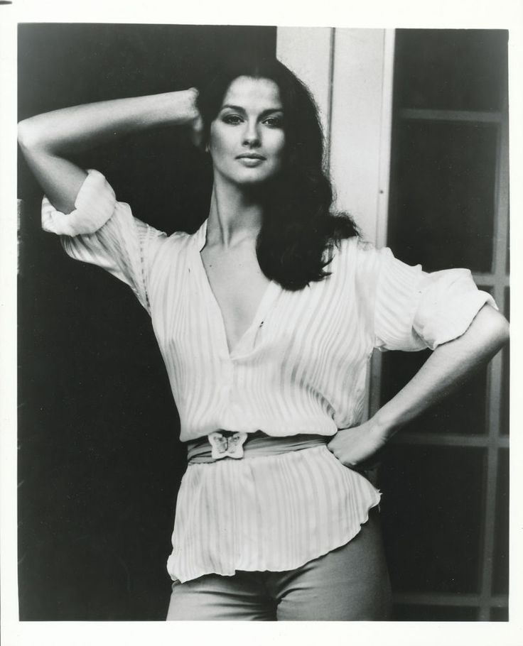 Veronica Hamel. 70s casual summer style.
