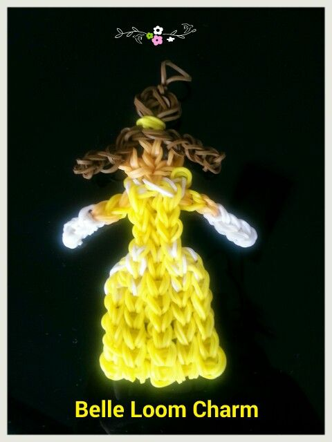 Disney Princess Beauty and the Beast - Belle Loom Charm