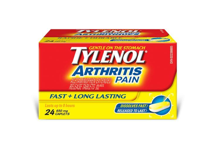 Tylenol box