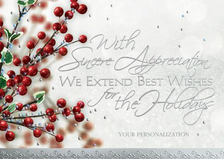 Best Business Holiday Greetings Images On   Business