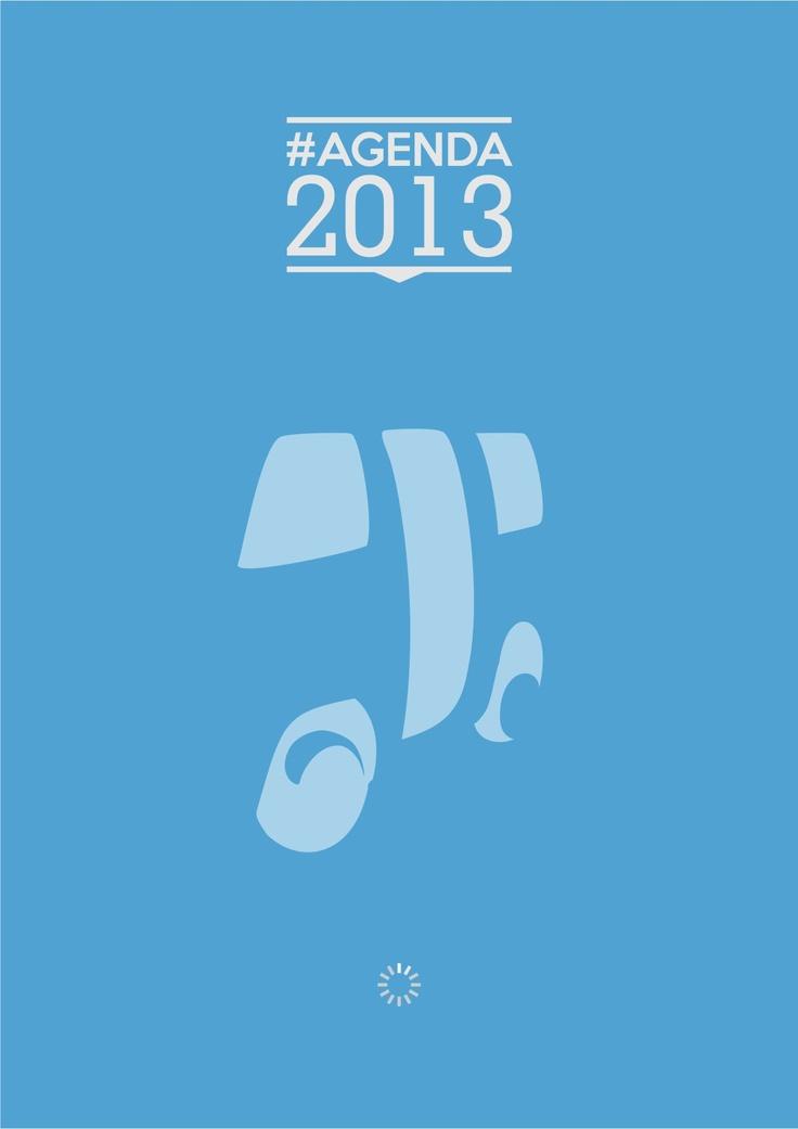 Desain Sampul #Agenda2013Supet Warna Biru
