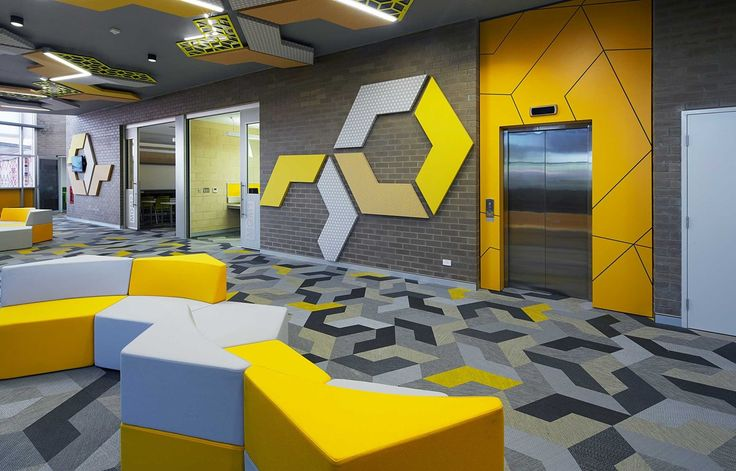 Bolon flooring in Mount Lawley Senior High School in Perth, Australia