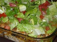 This is a Rachel Ray recipe, it turned out so good, I will definitely be making this again. I love the fresh lettuce and tomatoes served on...