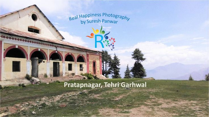 Amazing View of King's Fort Pratap Nagar, Tehri Garhwal, Uttarakhand   Surrounded by Rhododendron and Pine trees. https://realhappiness.in/amazing-real-rare-cultural-photos-of-uttarakhand-india.html