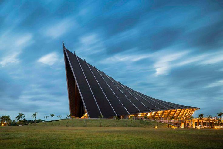 Design Hub - блог о дизайне интерьера и архитектуре: Концертный зал в Таиланде
