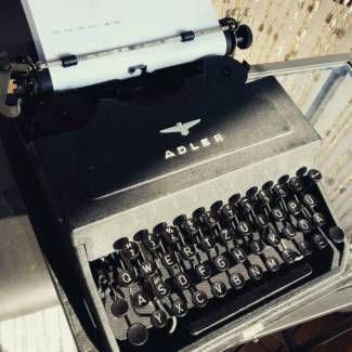 Für ihr Event zu vermieten - Vintage Schreibmaschine von Adler in Hessen - Langen (Hessen) | eBay Kleinanzeigen