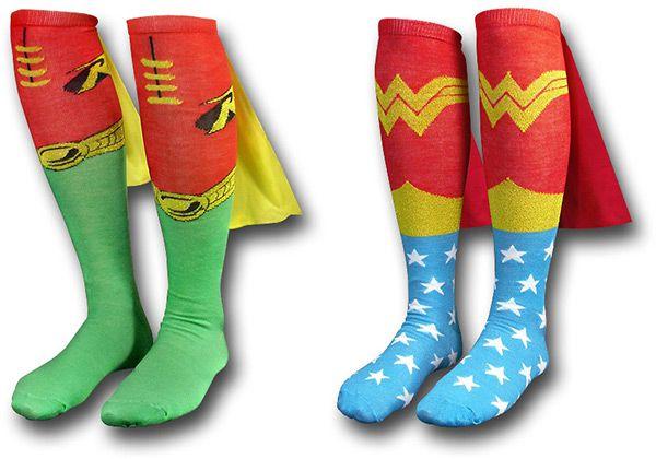 Superhero socks: Geek, Superhero Socks, Wonder Women, Style, Superhero Capes, Running Socks, Super Heroes, Capes Socks, Woman Socks