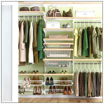 Rubbermaid closets