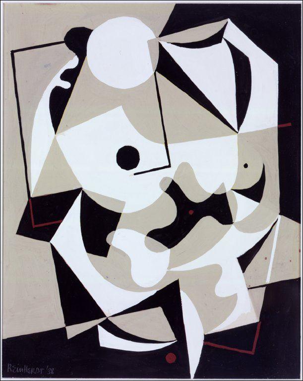 Ad Reinhardt, Untitled, 1938