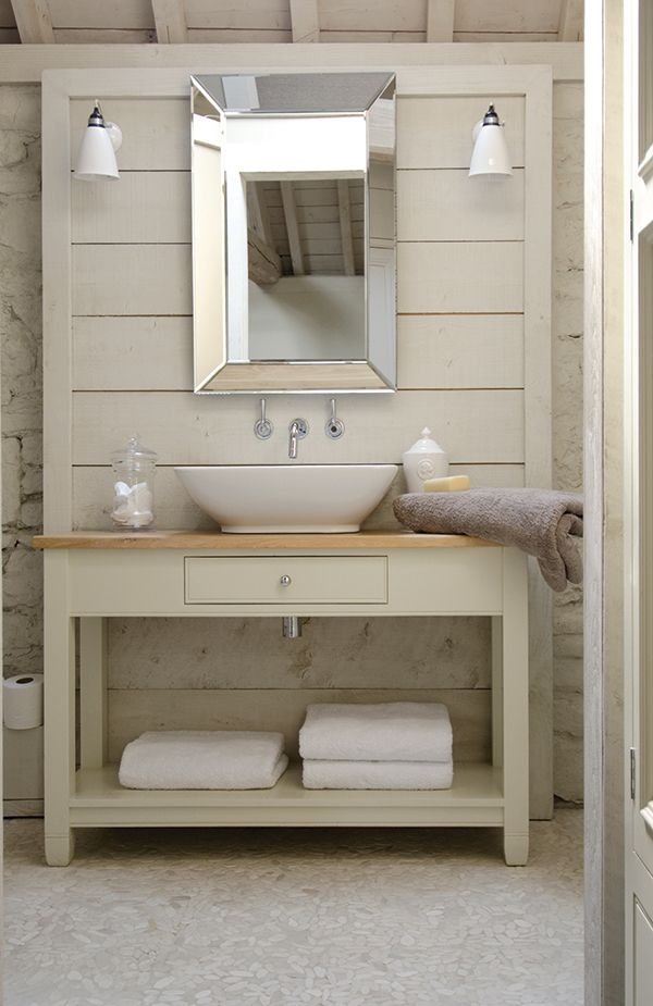Chichester 1220mm Countertop Washstand #neptune #bathroom #washstand #mirror www.neptune.com