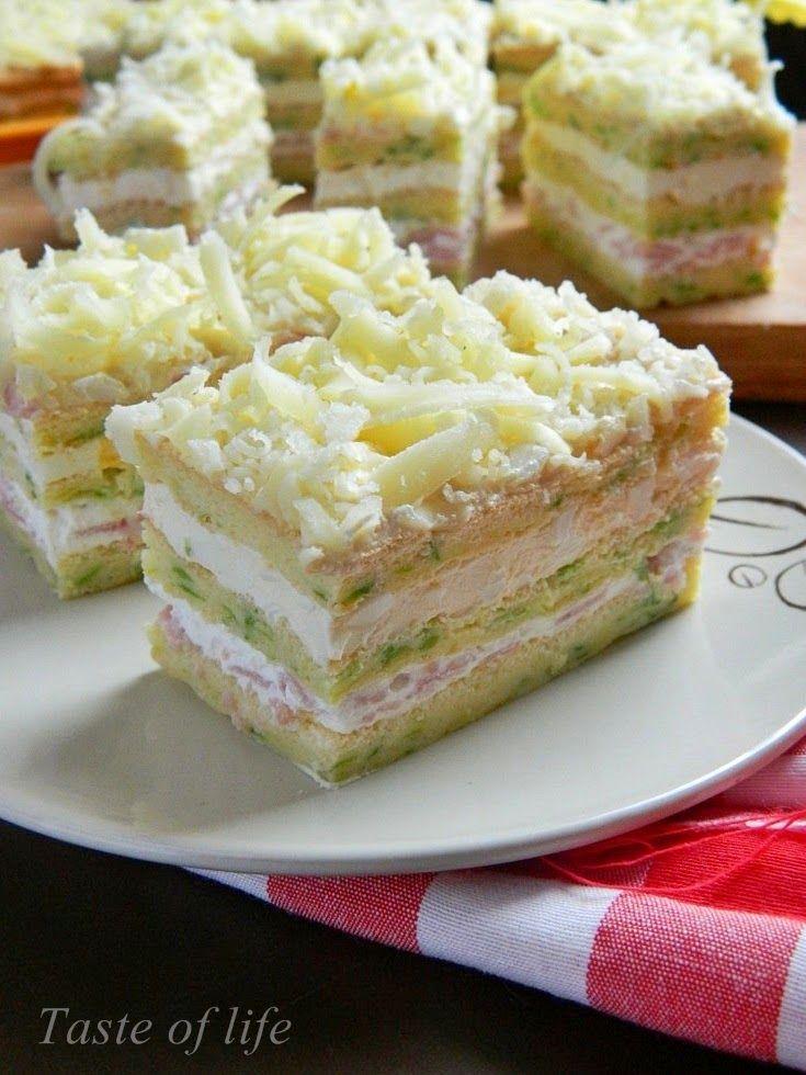 Taste of life: Ideje za hladno predjelo-slana torta i rolat