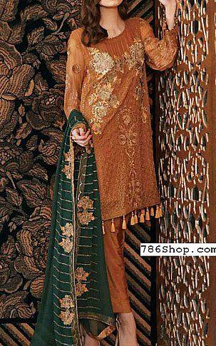 Bronze Chiffon Dresses