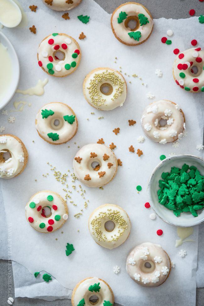 Spekulatius Mini Donuts / Speculoos mini Donuts
