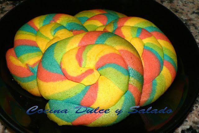 galletas arcoiris