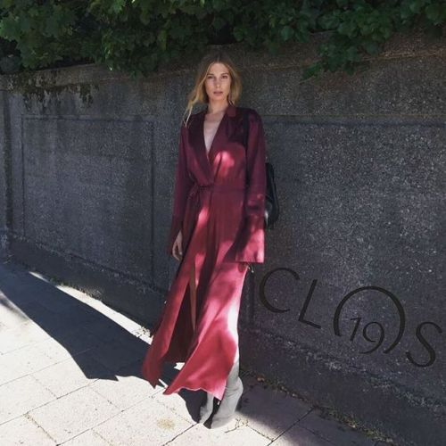 Sarah Brandner attended the Clos19 private dinner in Munich.