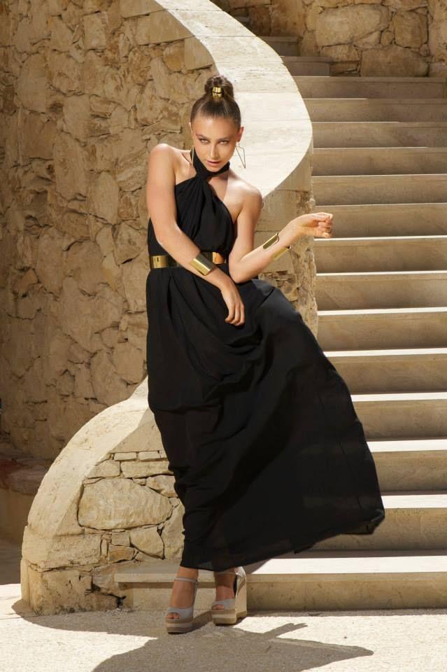 Naxos dress black
