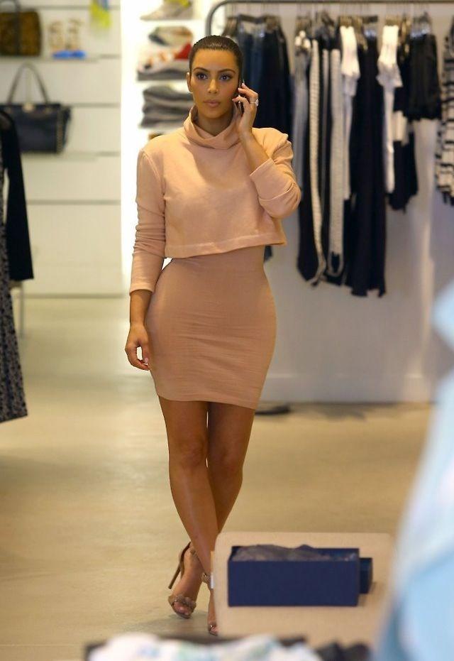 Kim kardashian fashion beige | Looks | Pinterest | Kim ...