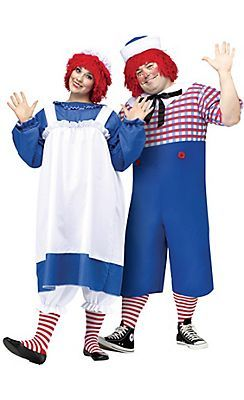 Share raggedy ann and andy costume for adult that necessary