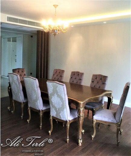 Ali Tırlı İnteriors Furniture | +90 212 297 04 70 #alitirli #bahcesehir #versace #architecture #yemekodasitakimi #mimar #yemekmasasi #livingroomdecor #sandalye #home #istanbul #chair #persan #interiors #tablo #bufe #furniture #basaksehir #florya #mobilya #perde #yesilkoy #bursa #duvarkagidi #kumas #azerbaijan #ayna #luxury #luxuryfurniture #interiorsdesign
