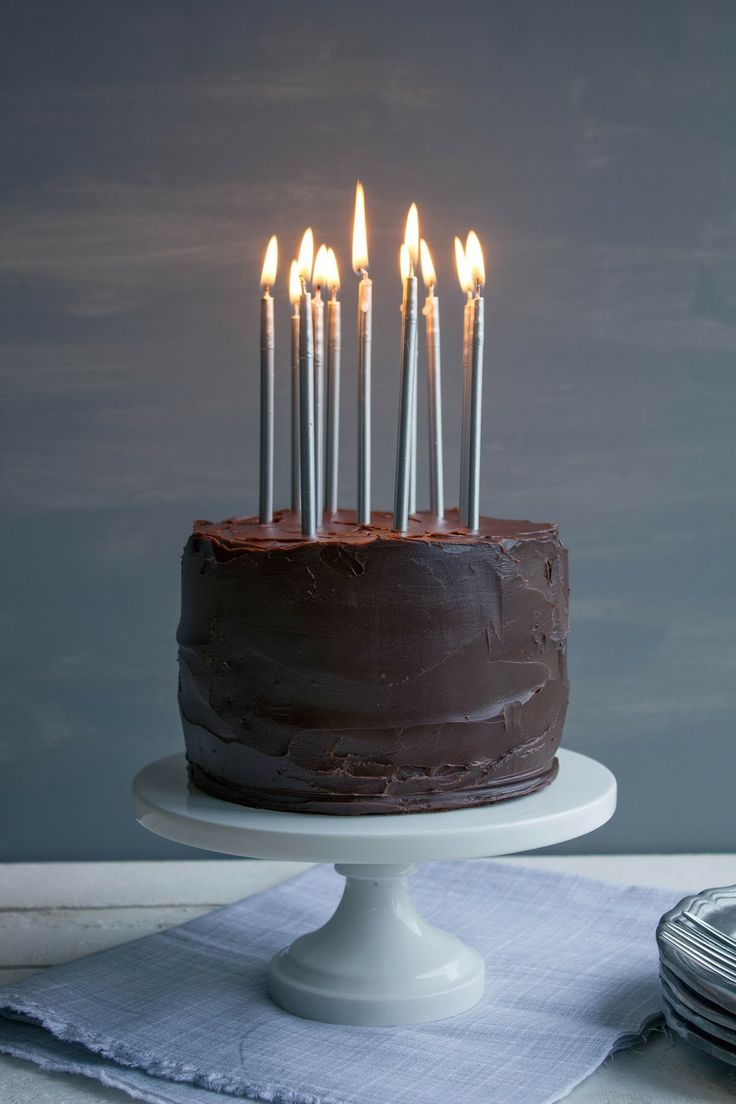 Chocolate & Peanut Butter Birthday Cake