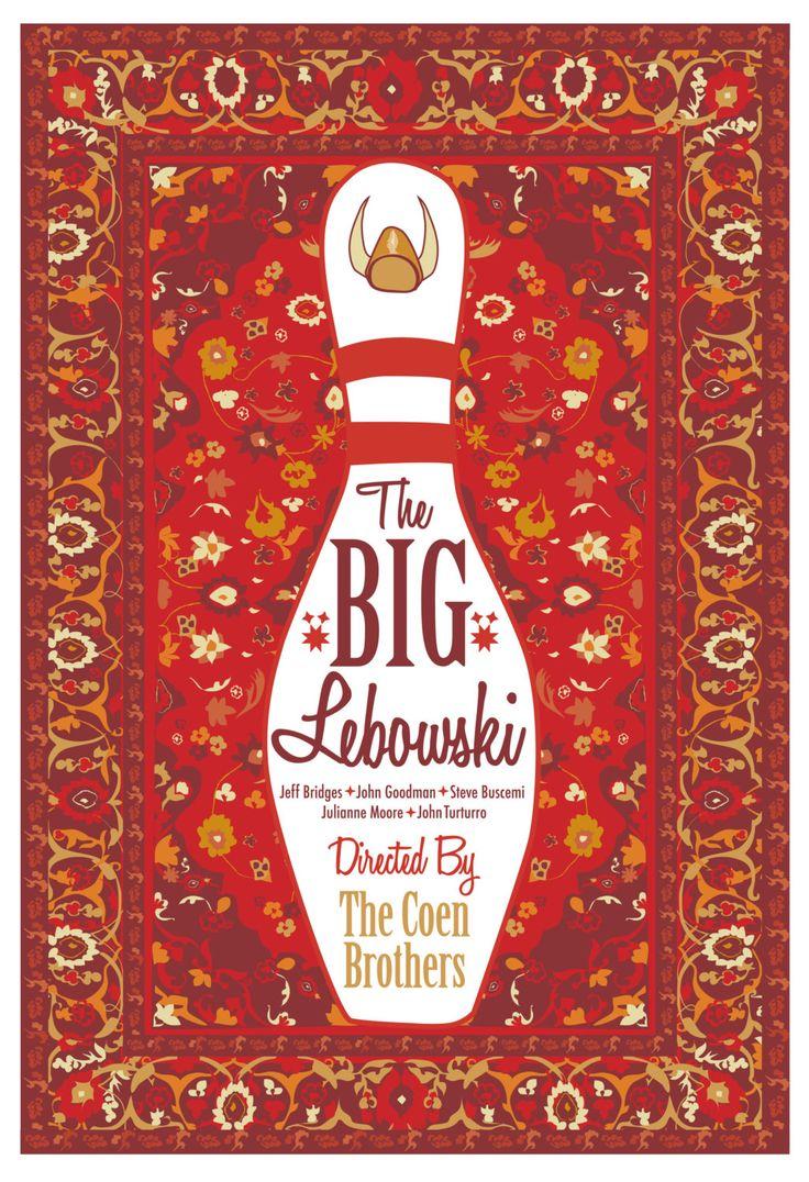 Maude Lebowski's Rug from 'The Big Lebowski' by CuteStreakDesigns