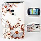 Stand Flip Leather Skin Card Pocket Case Cover For Samsung Galaxy S3 Mini i8190