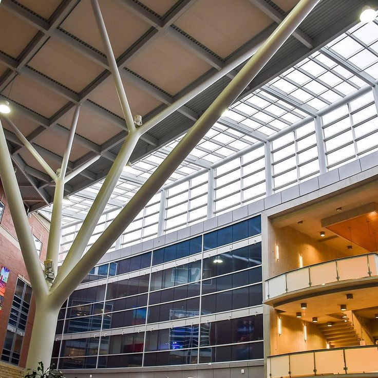 The Summerlee Science Complex Atrium at the University of Guelph #uofg #uofguelph