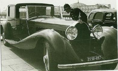 Bugatti T41 Royale in Brighton, 4-9-48, Photo Guy Griffiths