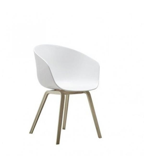 HAY witte kuipstoel About A Chair
