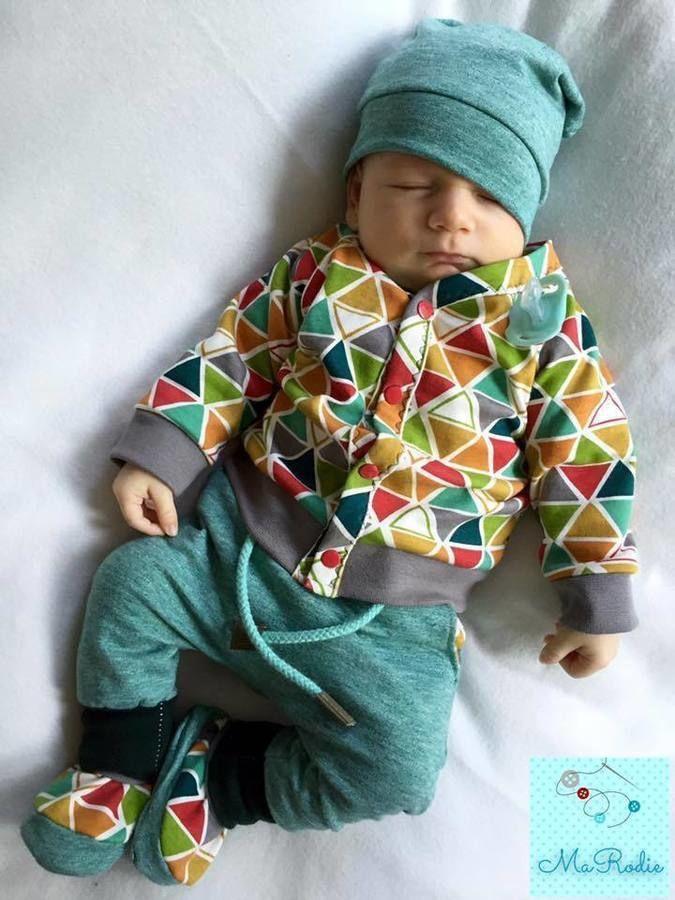 Baby-Cardigan / Schnittmuster und Nähanleitungen - Nähanleitungen bei Makerist