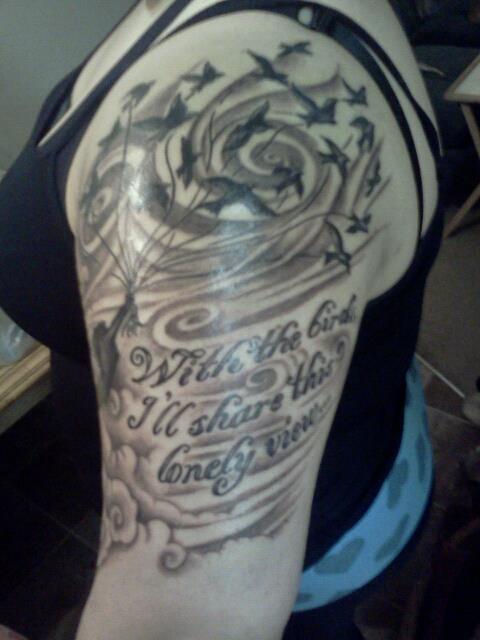 Red Hot Chili Peppers ~ artist Greg  @ Dark Star Tattoo, Vancouver WA