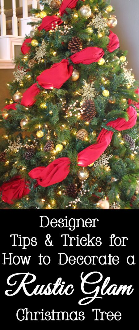 179 best christmas decorating ideas images on pinterest christmas designer tips and tricks for how to decorate a rustic glam christmas tree christmas decorating ideaschristmas tree ideaschristmas diycrock solutioingenieria Gallery