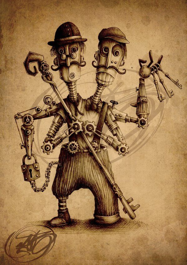 Steampunk Tendencies | Paride Bertolin (JAB)