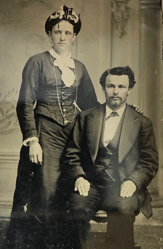 Mary Katherine Horony and John Peters Ringo on a quarter ...