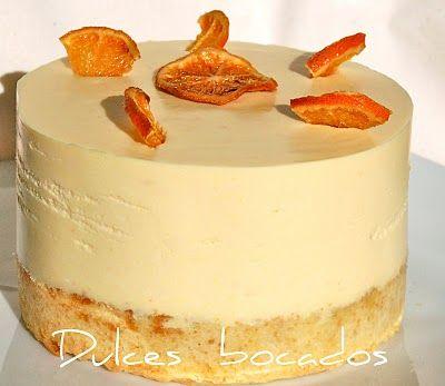 Tarta de naranja con corazon de chocolate.  /  ¡Suit beibi yisus!