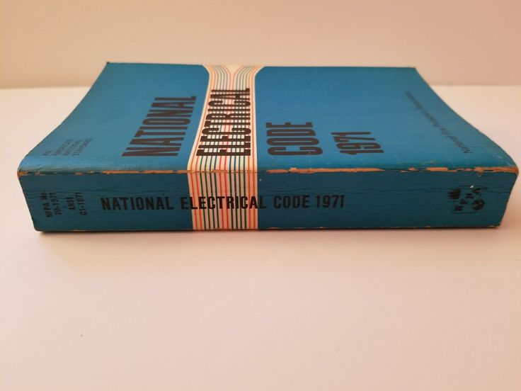 1971 National Electrical Code Book NFPA Soft Back Vintage Manual Fire Protection | Business & Industrial, Electrical & Test Equipment, Electrical Supply Equipment | eBay!