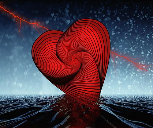 Red Heart   Hope you have a happy valentine made in photosho…   Palms   Flickr
