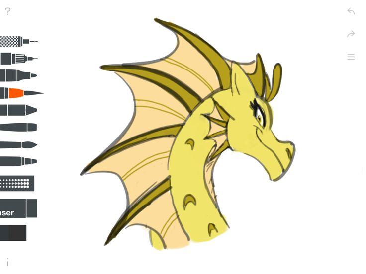 Adagio- Siren iPad Sketch 2 by DragonMaster137 on DeviantArt