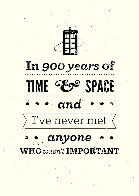 Doctor Who Quote by risarodil - something i can put in a birthday card aye?!