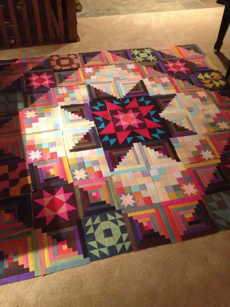 Some assembly required! Amish quilt